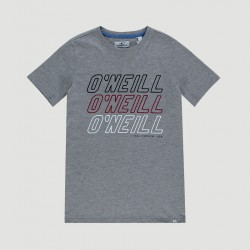 O'NEILL ALL YEAR BOYS T SHIRT SILVER MELEE
