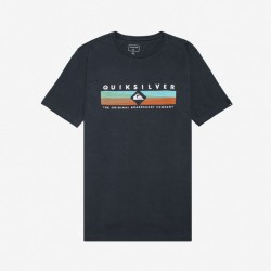 QUIKSILVER DISTANT FORTUNE BOYS T SHIRT NAVY