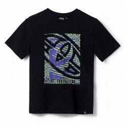 ANIMAL GRAPHIC TABO BOYS T SHIRT BLACK