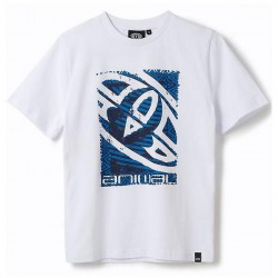 ANIMAL GARPHIC TABO BOYS T SHIRT WHITE