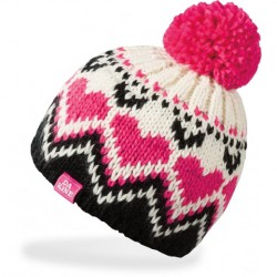 DAKINE MOLLY KIDS BEANIE BLACK/PINK