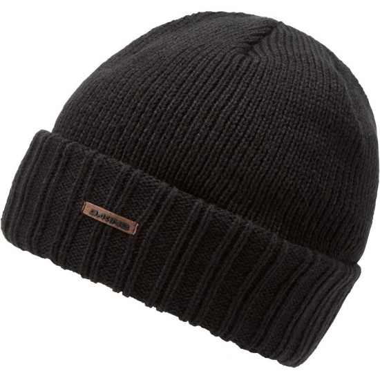 DAKINE HARVEY BEANIE BLACK SOLID