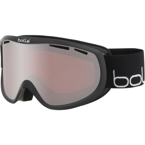 BOLLE SIERRA SHINY BLACK & WHITE Vermillon Gun Cat 2 GOGGLES