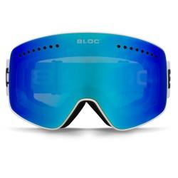 BLOC FIFTY FIVE G550 INTERCHANGEABLE 2 LENS Matt White/Magnetic 2 lens system