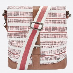 ANIMAL CROSS BODY NUCLEUS BAG BRICK DUST PINK