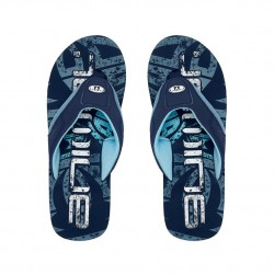 ANIMAL MENS JEKYL LOGO FLIP FLOPS INDIGO BLUE