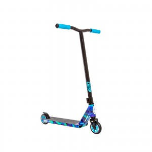 CRISP SWITCH CHROME CLOUDY BLUE BLACK SCOOTER