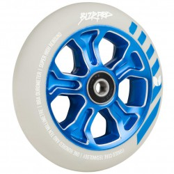 Blazer Pro Scooter Wheel	Rebellion Forged  Abec 11	Grey/Blue 110 MM
