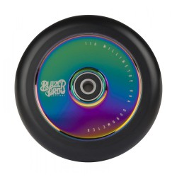 Blazer Pro Scooter Wheel Hollow 110mm W/Abec 11Neo Chrome
