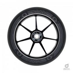 District Scooters 110mm x 28mm Dual Width Core W110 Wheel - Black / Grey