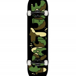 Fracture x YEH COOL Camo Complete 8.0 Skateboard