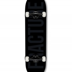 Fracture Fade Black Complete 8.0 Skateboard