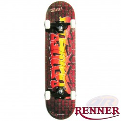 RENNER A17 GRAFFITI WALL SKATEBOARD