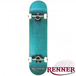 RENNER PRO - 7 PLY, VIRUS TRUCKS, ABEC 9 - BLUE SKATEBOARD