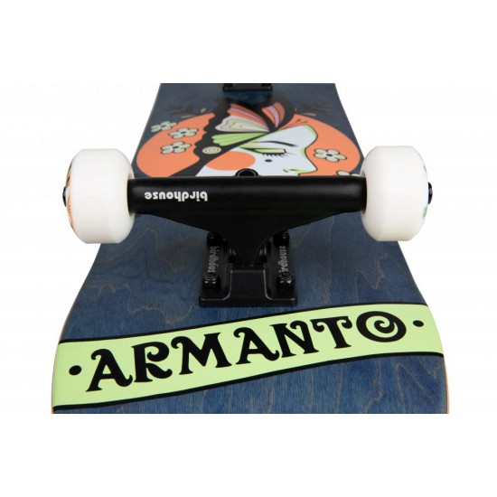 """Birdhouse Complete Stage 3 Armanto Butterfly Blue 8"""""""