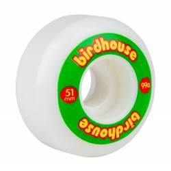 Birdhouse Wheels Logo 99a (PK 4) RASTA 51MM