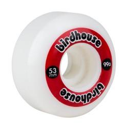 Birdhouse Wheels Logo 99a (PK 4) RED 53MM