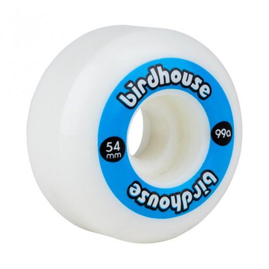Birdhouse Wheels Logo 99a (PK 4) BLUE 54MM