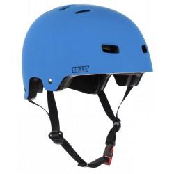 Bullet Helmet Matt Blue Medium Junior