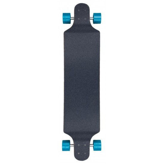 D STREET DROP DOWN HAWAIIAN LONGBOARD BLUE/RED