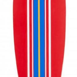 D Street Pintail Longboard Ocean Red