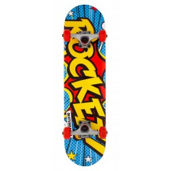 ROCKET COMPLETE SKATEBOARD POPART MINI
