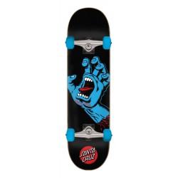 "Santa Cruz Complete Skateboard Screaming Hand Black 8.00"""