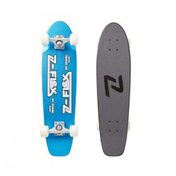 Z-FLEX JAY ADAMS BLUE METAL FLAKE CRUISER SKATEBOARD
