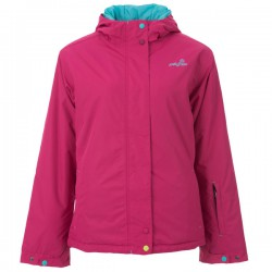 GIRLS OLIVIA SURFANIC PINK SNOW JACKET