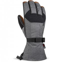 DAKINE MENS SCOUT LEATHER GLOVE CARBON