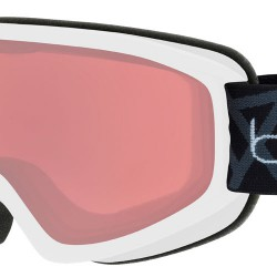 BOLLE FREEZE GOGGLES MATTE WHITE VERMILLION