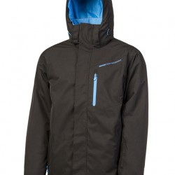 CHALLOW PROTEST MENS SNOWJACKET BLACK