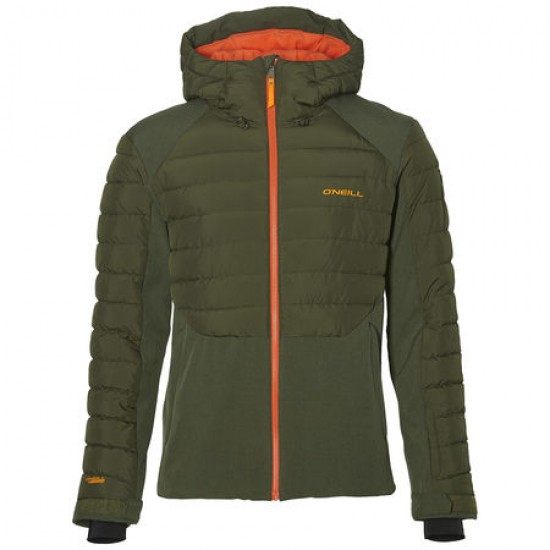 O'NEILL 37-N MENS SNOWJACKET FOREST NIGHT
