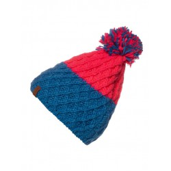 PROTEST HIKER 20 BEANIE PINK/BLUE