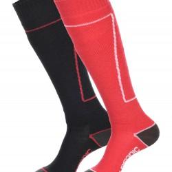 Surfanic Womens Pro 2pk Socks Midnight/Raspberry