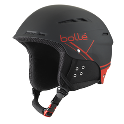 BOLLE B-FUN HELMET BLACK/RED