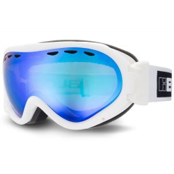 BLOC SPIRIT OTG GOGGLES SHINY WHITE ORANGE REVO