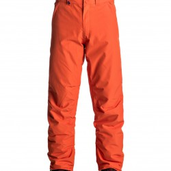 QUIKSILVER ESTATE PANTS MANDERIN RED