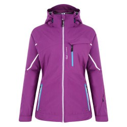 DARE2B EXHILERATE WOMENS PURPLE SNOWJACKET