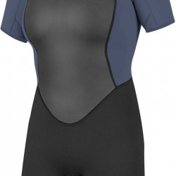 O'Neill Womens Reactor Short Wetsuit Black