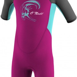 O'Neill Girls Toddler Reactor Wetsuit