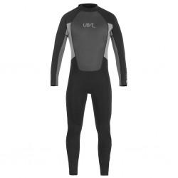 UB Mens Blacktip Mono Long Wetsuit (Black/Grey)