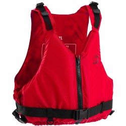 Yalu Centre Zip Red Buoyancy Jacket Junior