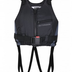 TYPHOON AMROK 50N ADULTS BUOYANCY AID VEST BLACK/GRAPHITE