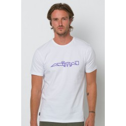 ANIMAL ARCHIVE MENS T SHIRT WHITE