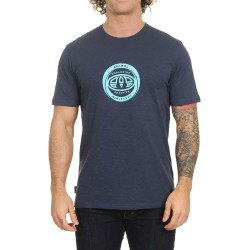 ANIMAL FREERIDE GRAPHIC MENS T SHIRT INDIGO BLUE